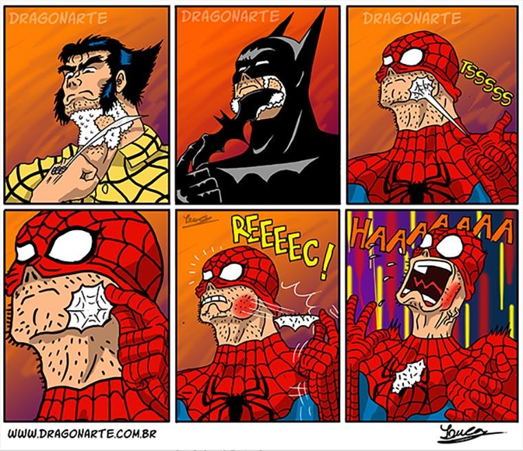 Lustige Superhelden-Comicstrips Dragonarte_02