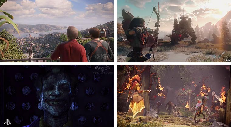 E3 2015 Trailer: Uncharted 4, Horizon Zero Dawn, Batman, Fable Legends & mehr E3-2015-Trailers
