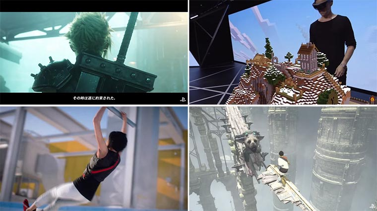 E3 2015 Trailer: Final Fantasy VII, Mirror´s Edge Catalyst, Fifa 16, The Last Guardian & mehr E3-2015-trailer