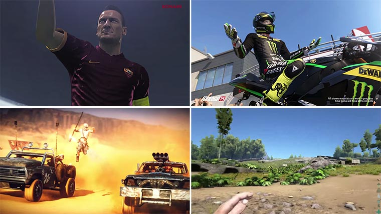 E3 2015 Trailer: PES 2016, Star Wars Battlefront, Mad Max & mehr E3-Trailerse