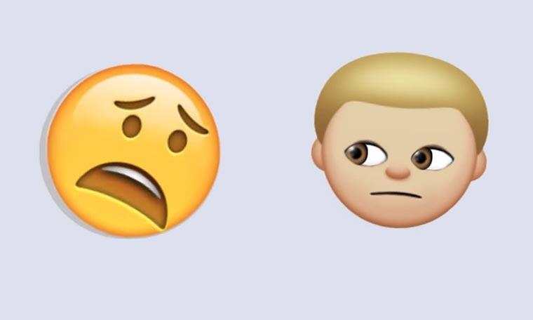 Emojis haben eine Meeting Emoji-Meeting