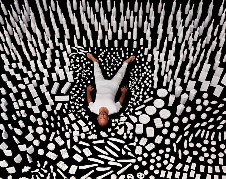 Kunst-Installation: 1 Jahr Essen Food-Chain-Project_01