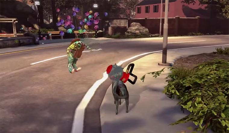 Zombie-Modus für den Goat Simulator