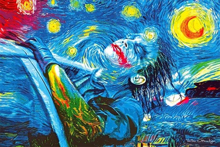 Klassische Malerei trifft Gotham Gotham-Paintings_01