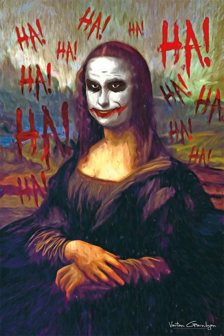 Klassische Malerei trifft Gotham Gotham-Paintings_02