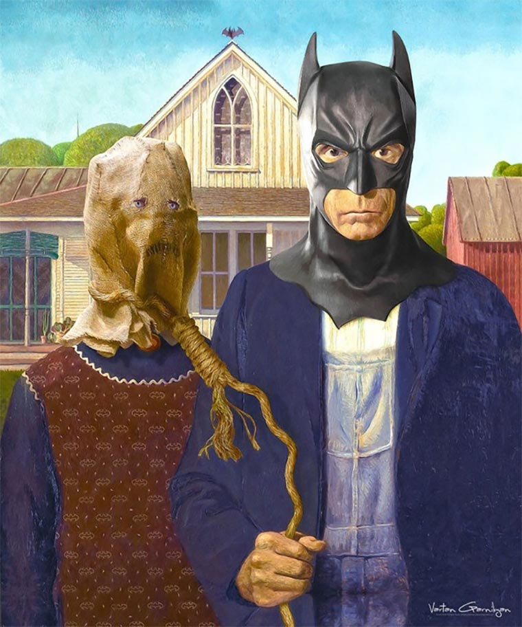 Klassische Malerei trifft Gotham Gotham-Paintings_03