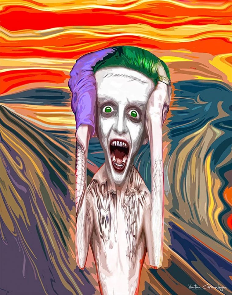 Klassische Malerei trifft Gotham Gotham-Paintings_04