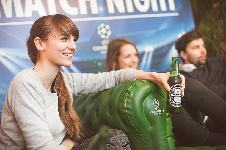 Champions League: Gewinnt ein Heineken-Fanpackage!