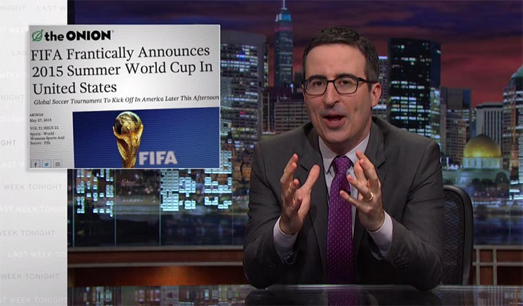 Last Week Tonight: Fifa, die Zweite