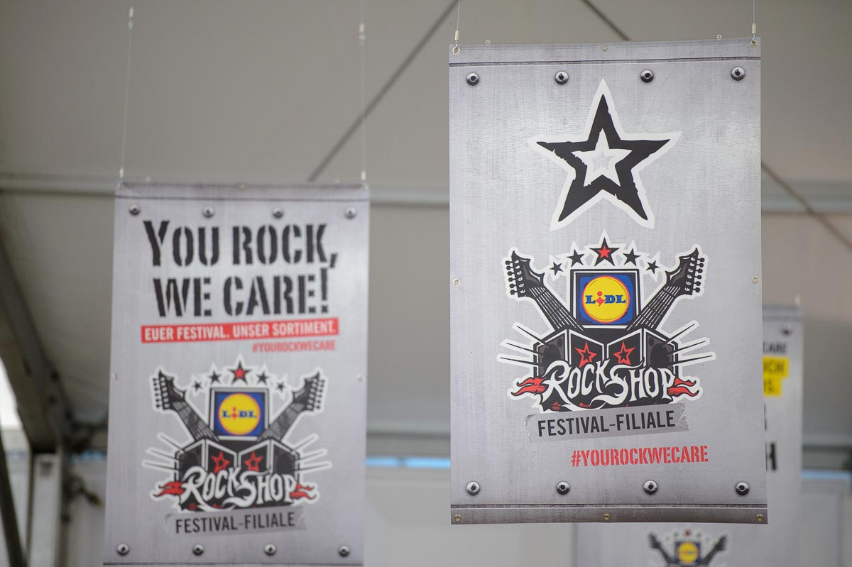 Der Lidl RockShop bei Rock am Ring Lidl_RockShop_04