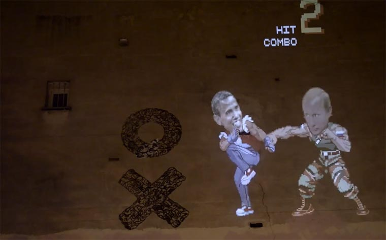 Street Fighter II – Obama vs. Putin