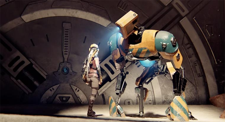 Cinematic Debut Trailer: ReCore ReCore
