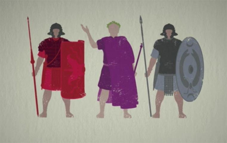 Die perfekte Organisation der römischen Armee Roman-Army