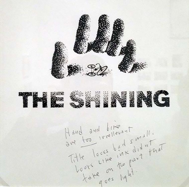 Saul Bass' abgelehnte Shining-Poster Saul-Bass_Shining-poster_01