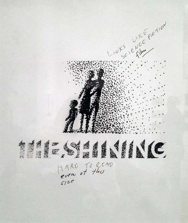 Saul Bass' abgelehnte Shining-Poster Saul-Bass_Shining-poster_02