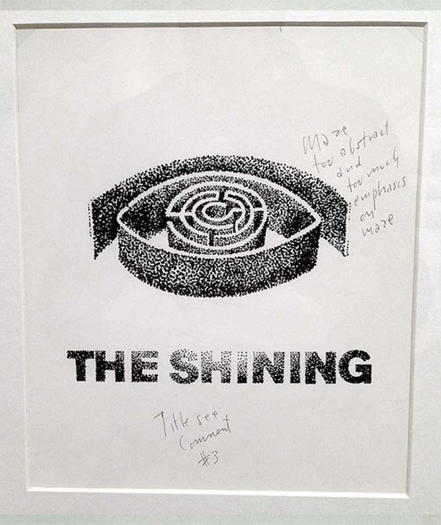 Saul Bass' abgelehnte Shining-Poster Saul-Bass_Shining-poster_03