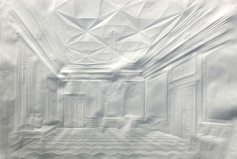 Falten-Bilder auf Papierblättern Simon-Schubert_02