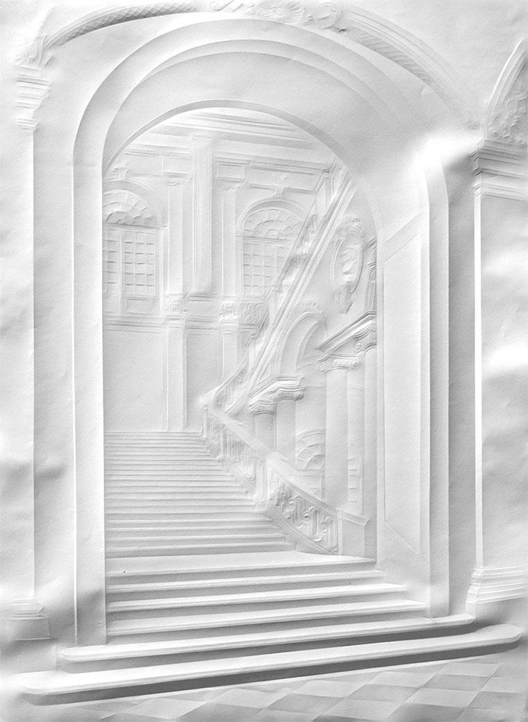 Falten-Bilder auf Papierblättern Simon-Schubert_05
