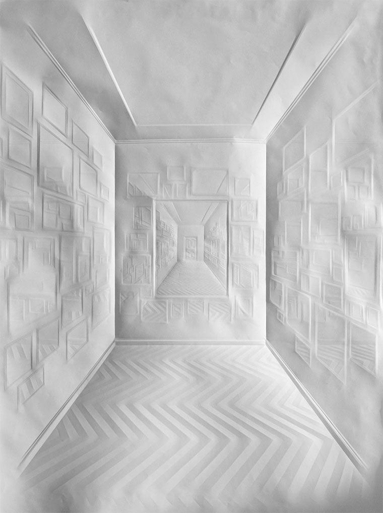 Falten-Bilder auf Papierblättern Simon-Schubert_07