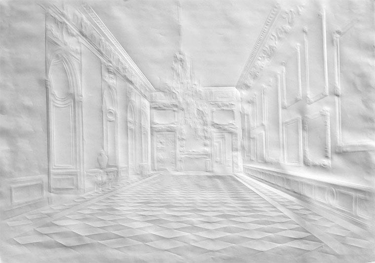 Falten-Bilder auf Papierblättern Simon-Schubert_09