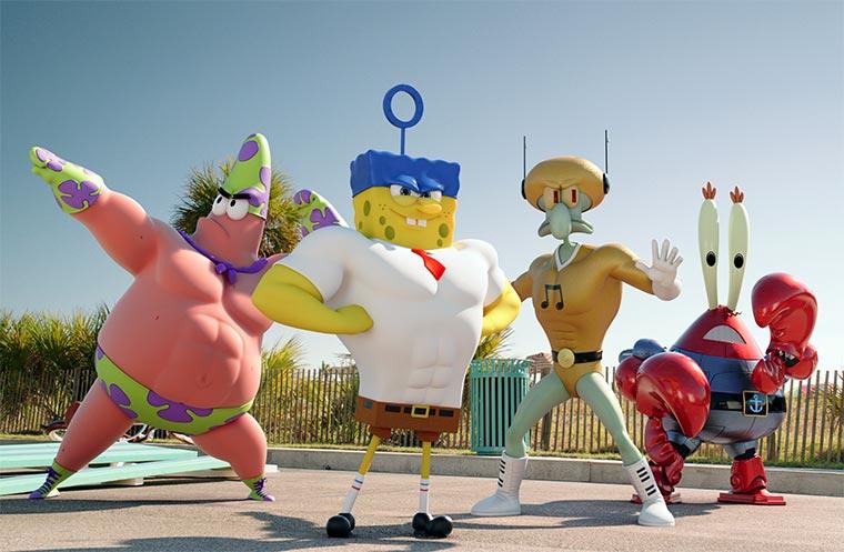 Gewinnt schwammstarke Spongebob-Pakete!