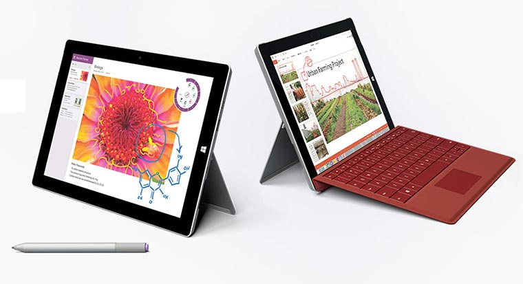 Das neue Surface 3 als Laptop-Alternative Surface-3