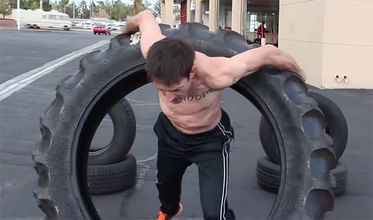 Traktor-Hula Hoop-Reifen
