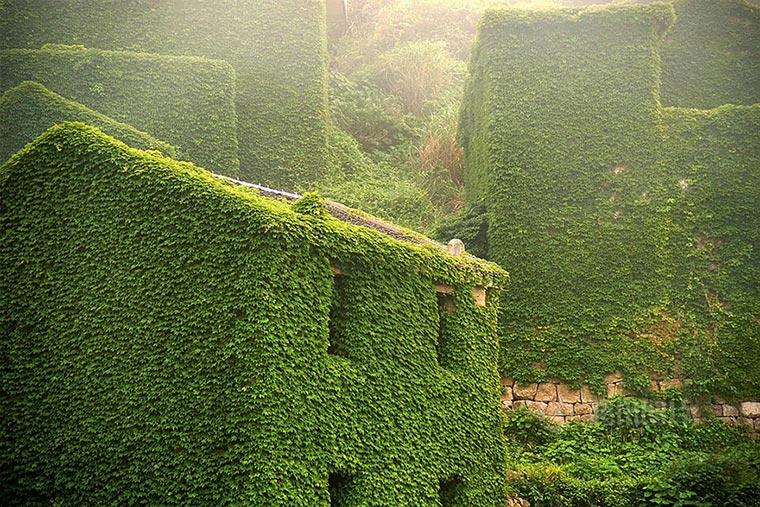 Natur holt sich verlassenes Dorf zurück abandoned-fisher-village_04