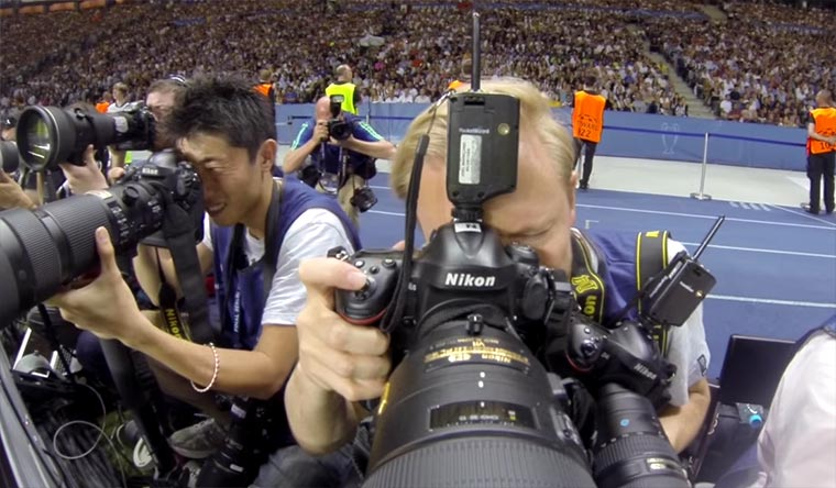 Als Fotograf beim Champions League-Finale