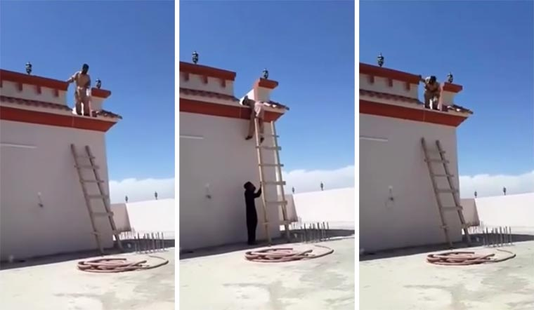 ladder-prank