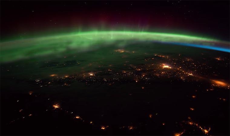 Timelapse: die Erde von der ISS timelapse-ISS