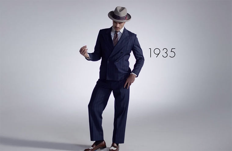 100 Jahre Männer-Fashion 100-years-of-men-fashion