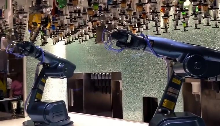 Roboter-Barkeeper Bionic-Barkeepers