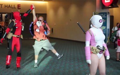 Deadpool-vs-comic-con