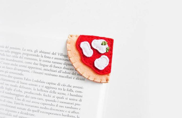Kleine süße Food-Lesezeichen