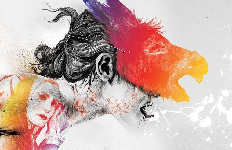 Zeichnungen: Gabriel Moreno