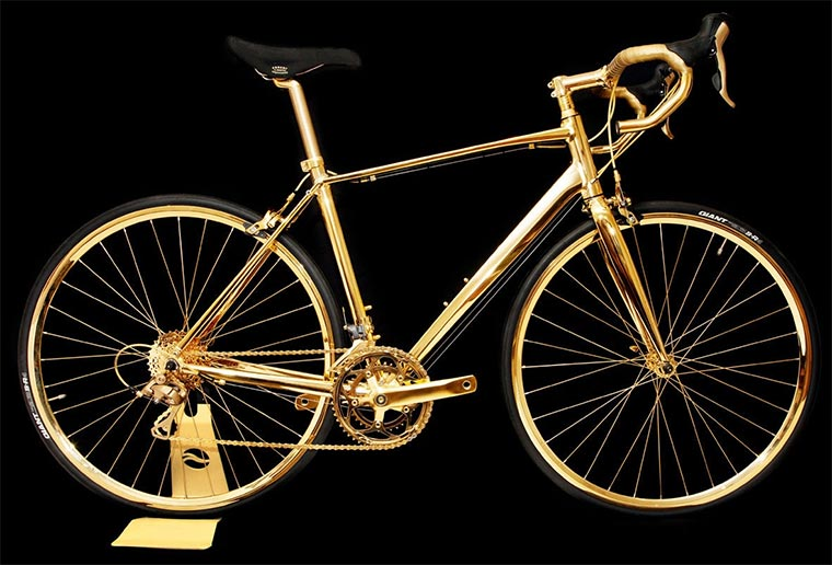 Rennrad aus 24-karätigem Gold Gold-Bike_01