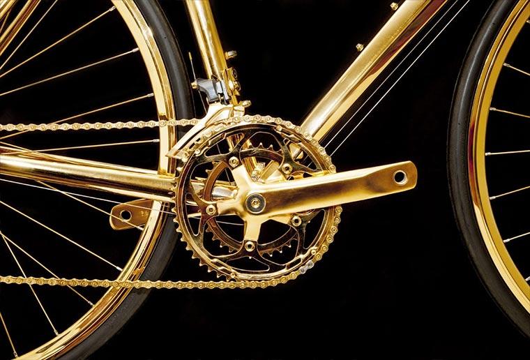 Rennrad aus 24-karätigem Gold Gold-Bike_03