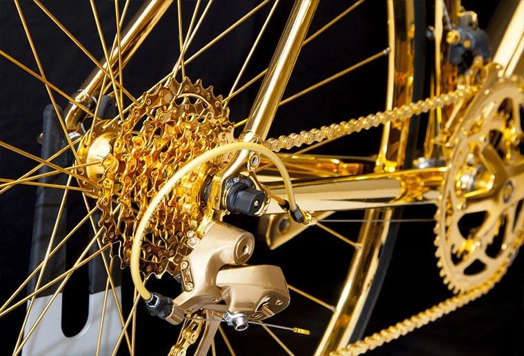 Rennrad aus 24-karätigem Gold Gold-Bike_04
