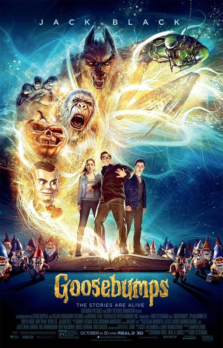 Trailer: Goosebumps Goosebumps2