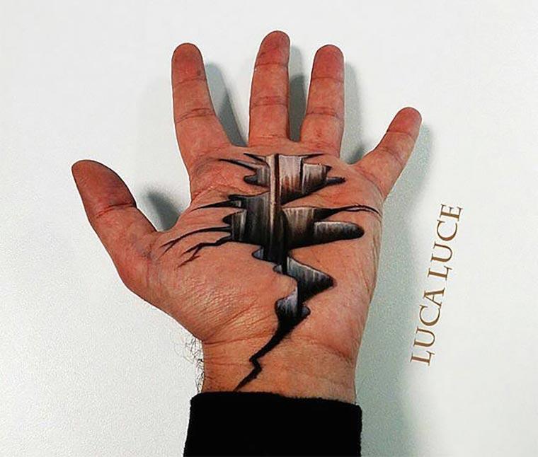 3D-Malerei in der Hand Luca-Luce_01