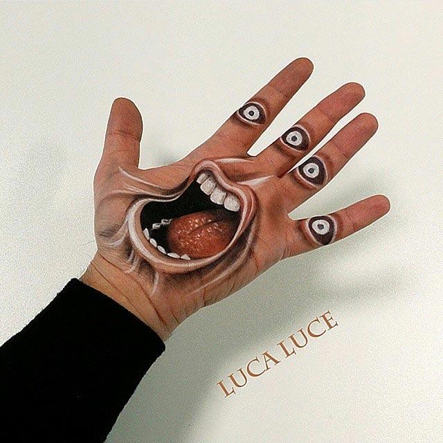 3D-Malerei in der Hand Luca-Luce_04