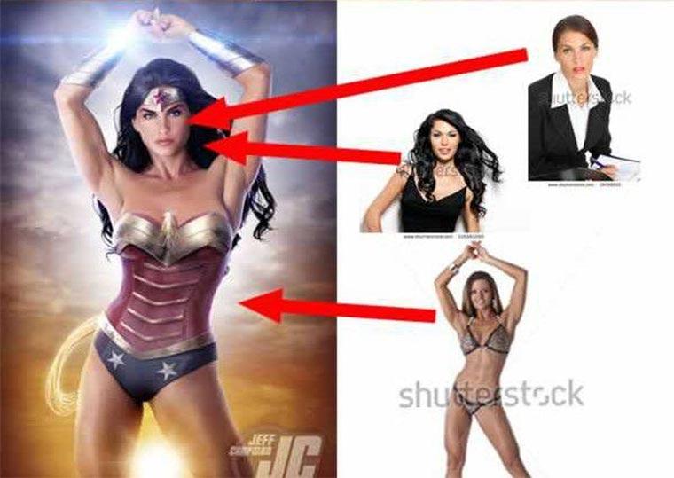 Photoshop-Collagen aus Stock-Fotos Photoshop-Stock_04