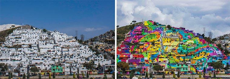 Mural über 209 Hausfassaden hinweg Plamitas_02