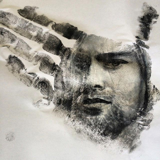 Handstempel-Malerei Russel-Powell_07
