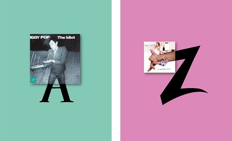 Das Vinyl-Alphabet