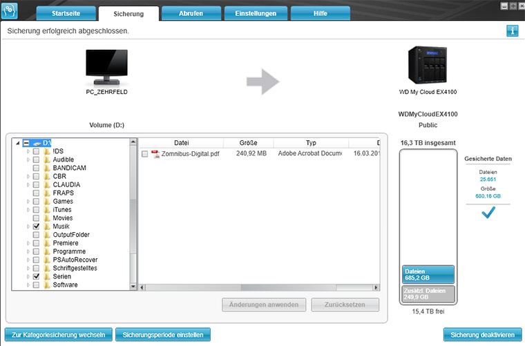 Western Digital My Cloud EX4100 im Test WD-MyCloud-Software_02