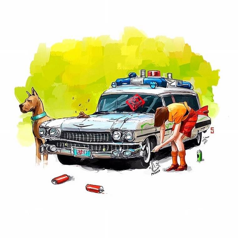 Probleme der Popkultur-Fahrzeuge famous-car-problems_05