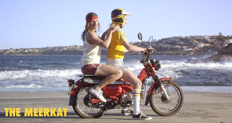 So fahren Männer gemeinsam Motorrad how-to-ride-bitch