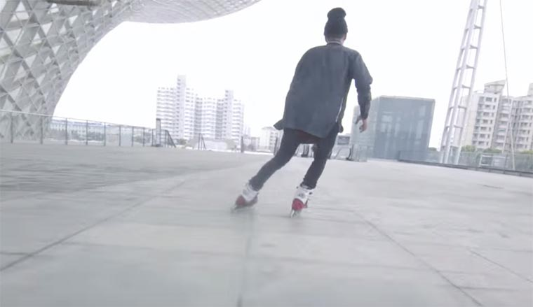 Rollerblaiding Shanghai